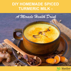 DIY Homemade Spiced Turmeric Milk – A Miracle Health Drink