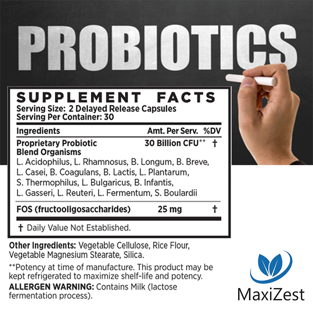 Super Probiotic Capsules Multi-Buy Bundle 2-Pack
