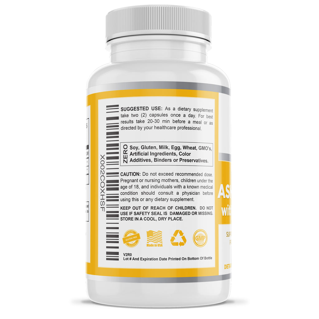 Pure Ashwagandha Root Extract Capsules