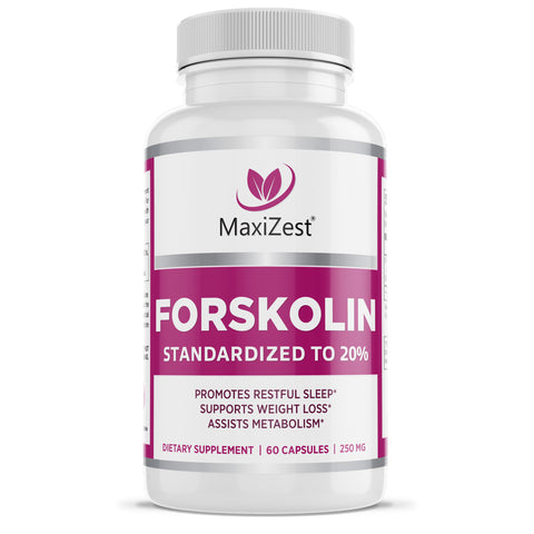 Pure Forskolin Capsules - Weight Loss Support