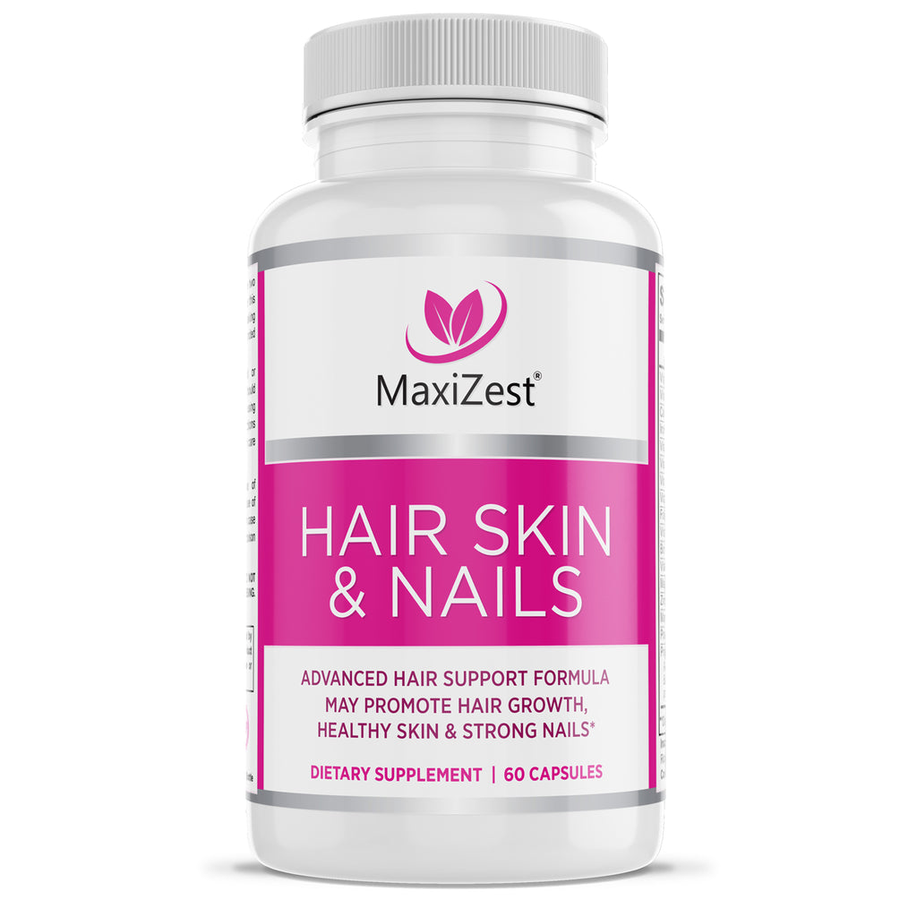 Hair Skin & Nails Supplement for Men and Women