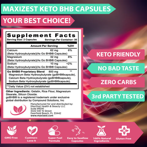 Keto BHB Supplement