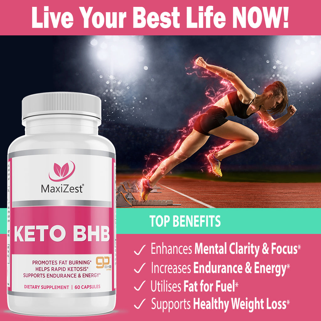 Keto BHB Supplement for Women and Men