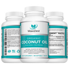 Turmeric  Curcumin & Coconut Oil Capsules Multi-Buy Bundle