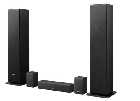Sony 1 Way 2 Driver Surround Sound Speaker System SSCS310CR