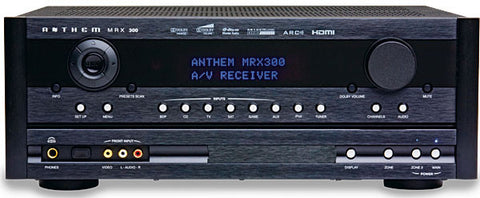 Anthem MRX 300 AV Receiver 80 Watts X 7