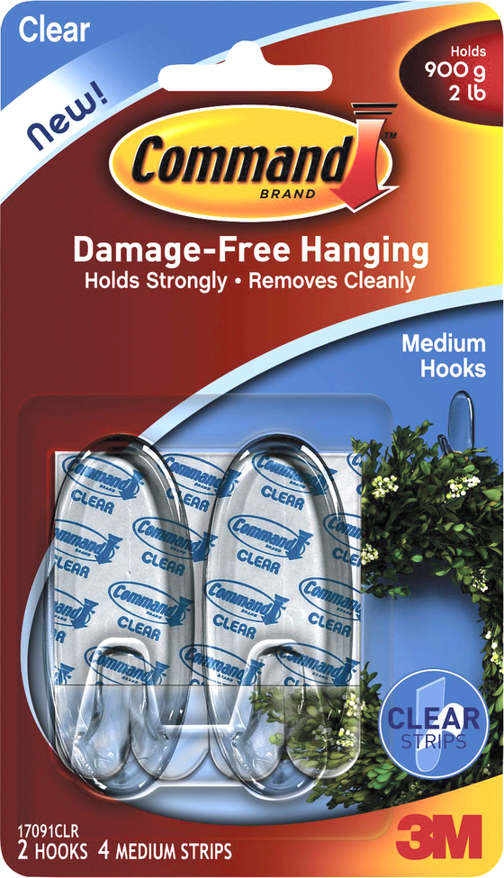 2-pack clear medium command hooks