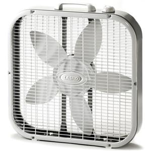 "Lasko 20"" Box Fan (White)"