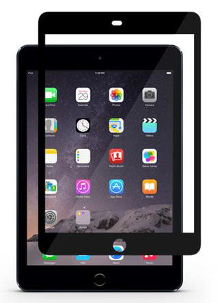 Moshi iVisor Screen Protector XT for iPad Mini - Black