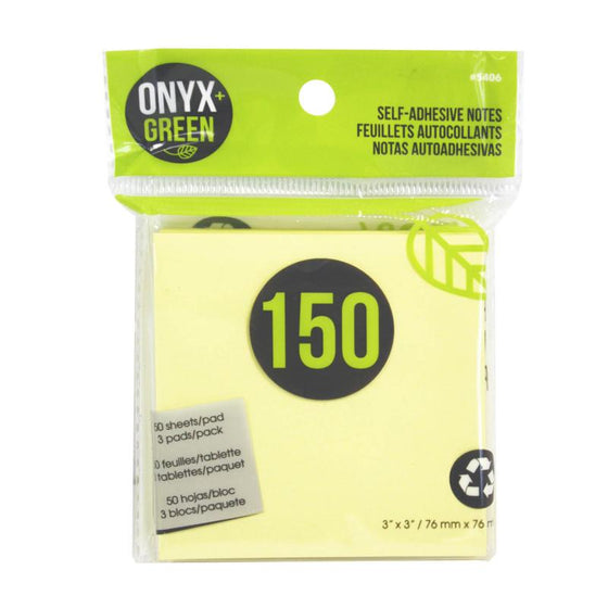 150 Self Adhesive Notes 3x3