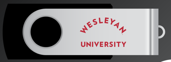 Wesleyan Branded 16GB flash drive