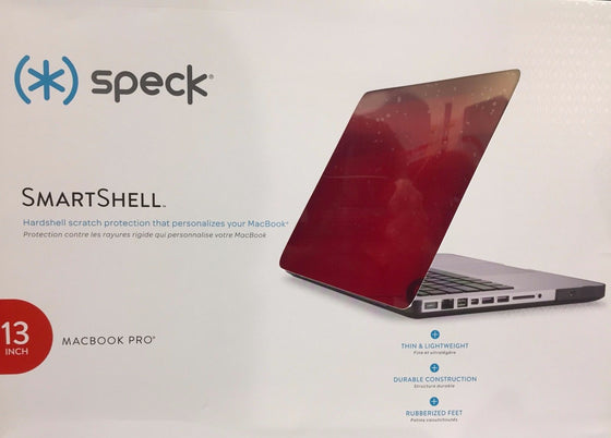 "Speck SmartShell Case for 2013 13"" Macbook Pro, Poppy Red"