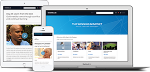 Training Zone offer - 10% off The Winning Mindset Digital Coaching Programme