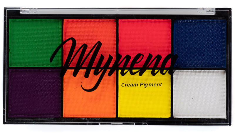 Neon Cream Pigments Palette