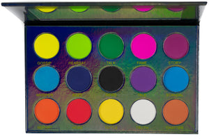 Matte and Shimmer Eyeshadow Palette - Rumors - Mynena
