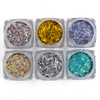 Glitter Gel Eyeshadow Pigment Flakes - Belle