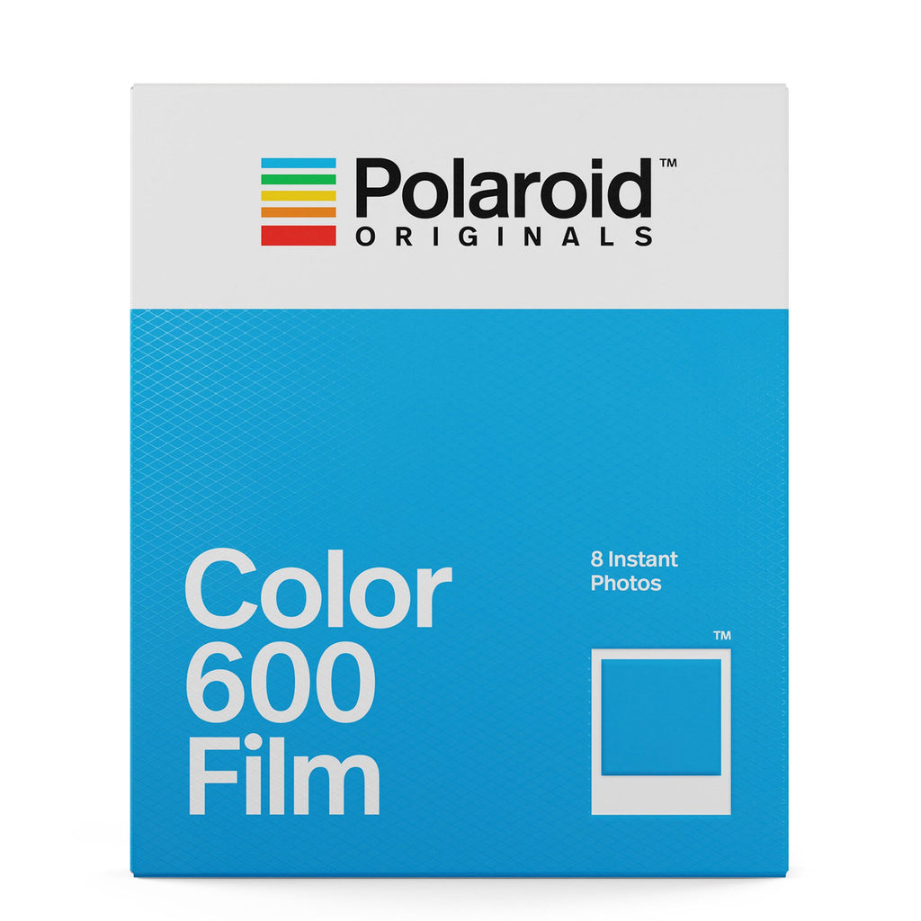 Color Film with White Borders for Polaroid 600 Cameras