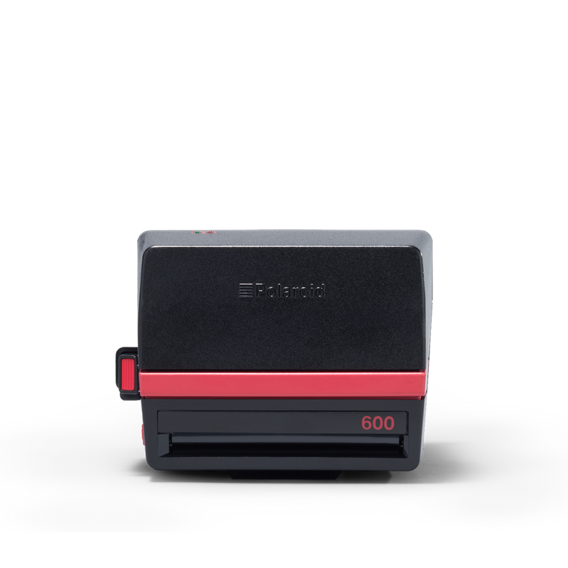 Red Polaroid Cool Cam 600 Instant Camera Closed view