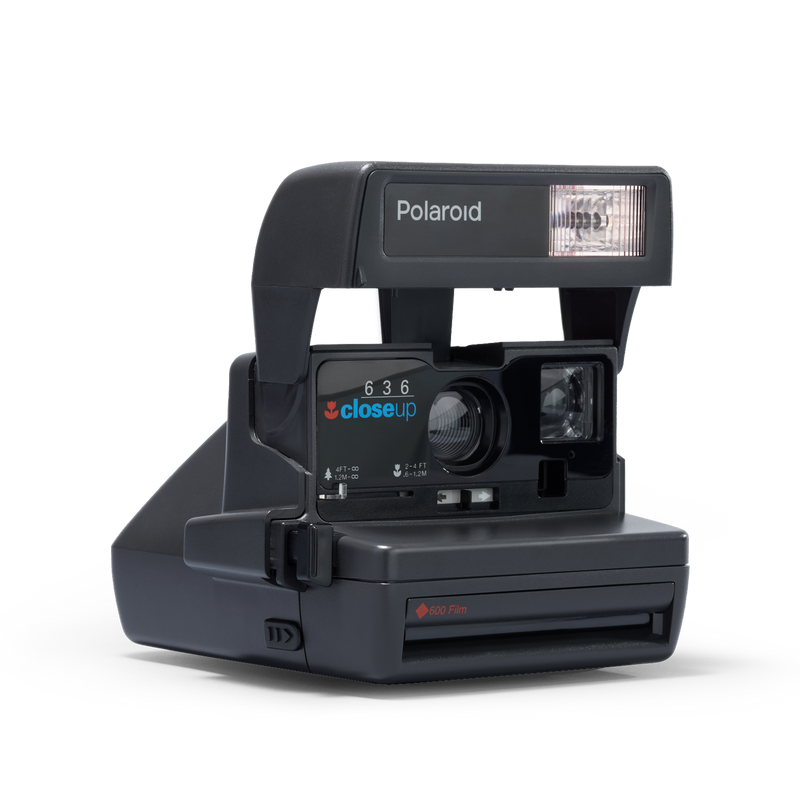 Polaroid OneStep Close Up Instant Camera Angle view
