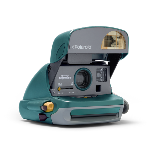 Polaroid 600 Express Green Instant Camera