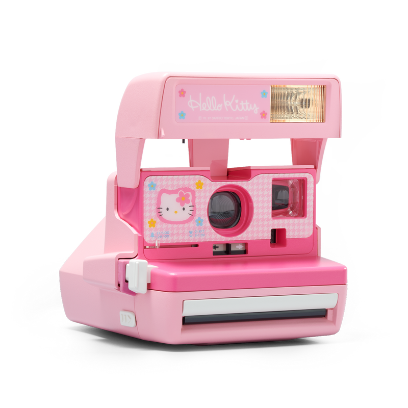 Hello Kitty Polaroid Camera Angle view