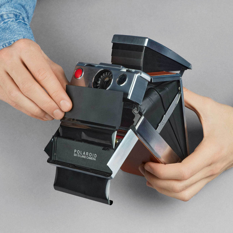 How to install a Film Shield for Polaroid Folding Cameras