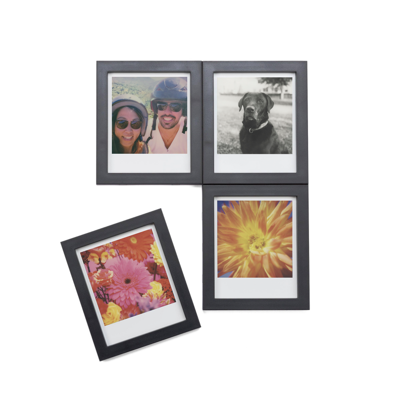Black Magnetic Polaroid Picture Frames