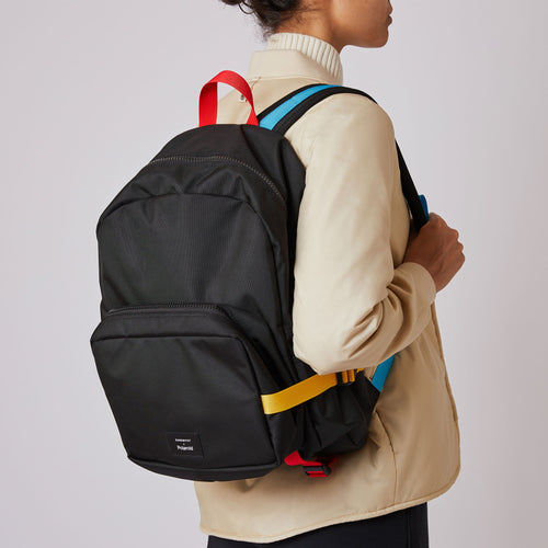 Sandqvist x Polaroid Collaboration – London Backpack front