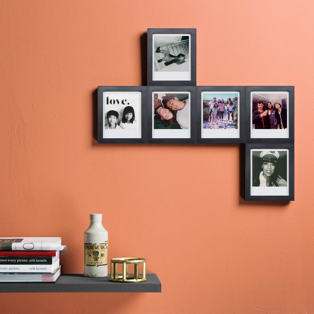 6 magnaframe magnetic photo frames for polaroid instant photos magnaframe picture frames pack of 6 jeuxipadfo Choice Image