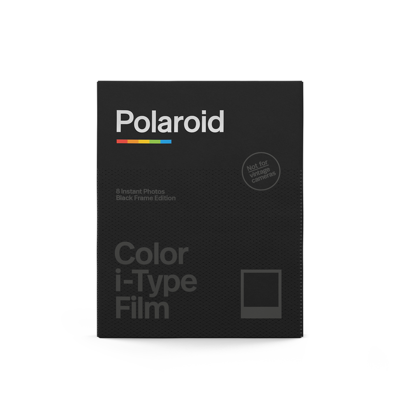 Polaroid Color i-Type Film Black Frame Edition Front