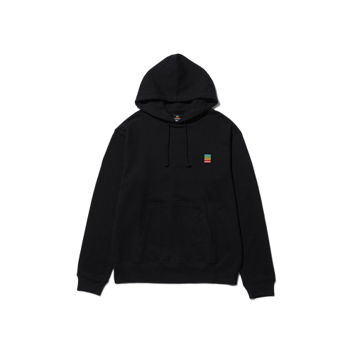 Polaroid Fragment Hoodie Back with logo