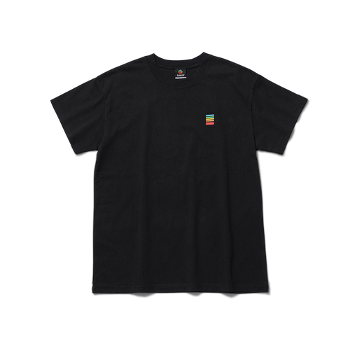 Polaroid Fragment Tee Back with logo