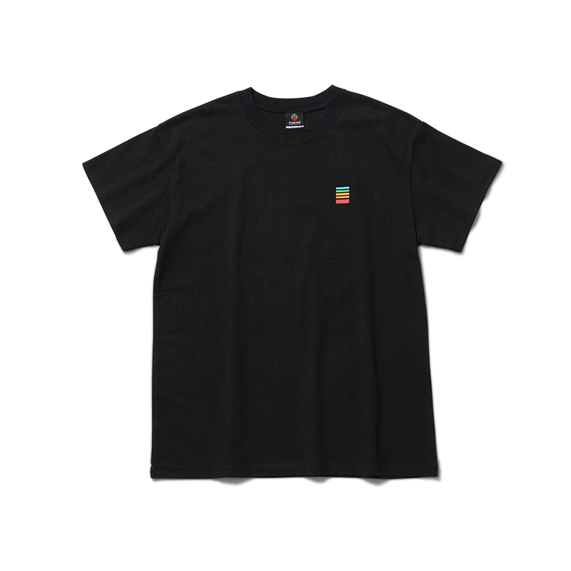 Polaroid Fragment Tee Front with logo