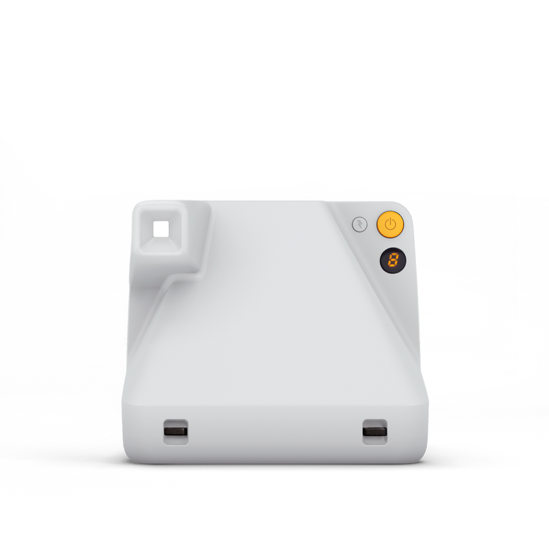Polaroid Now White Instant Camera Back view