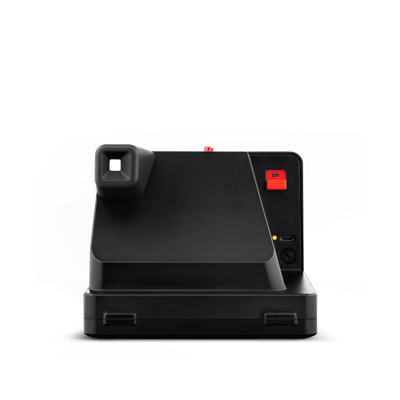 Black Polaroid OneStep Plus Instant Camera Back view