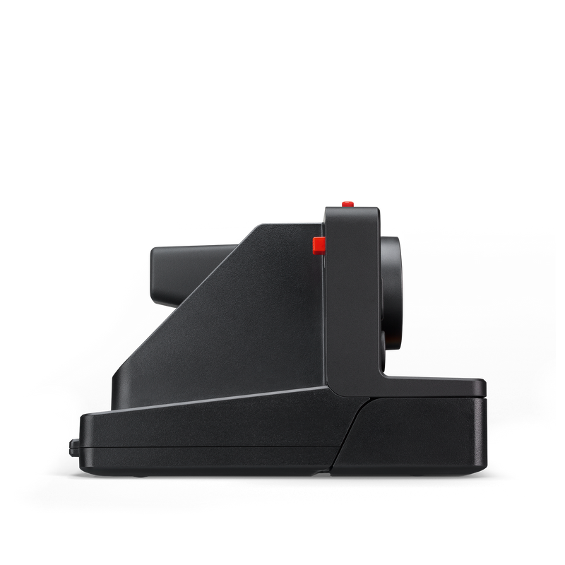 Black Polaroid OneStep Plus Instant Camera Side view