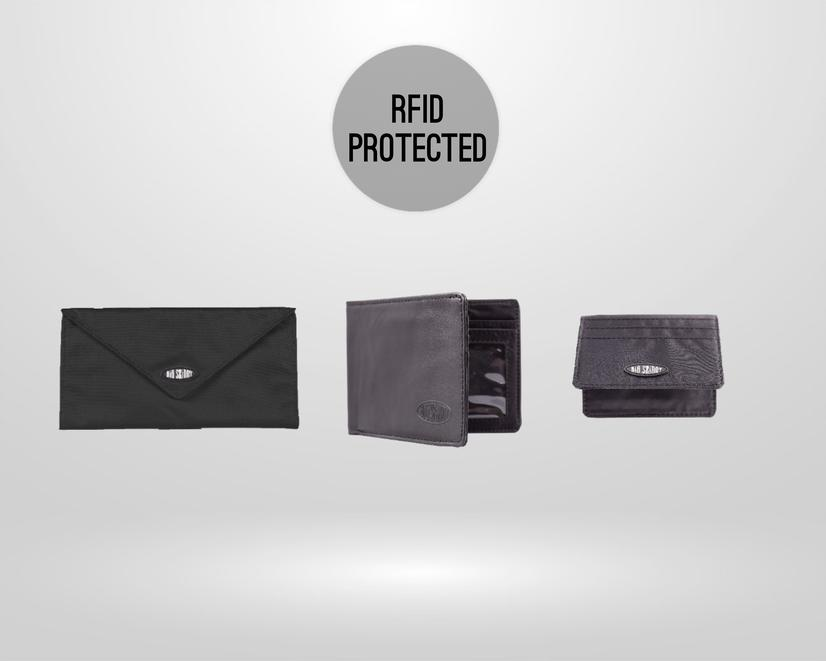 RFID Wallets + Card Cases