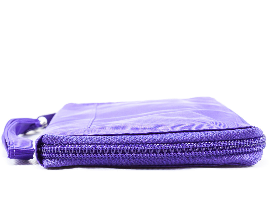 Panther Clutch Purple