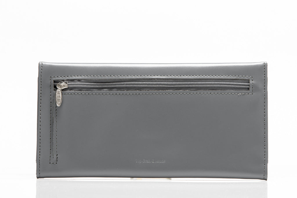 Leather Slimvelope Graphite