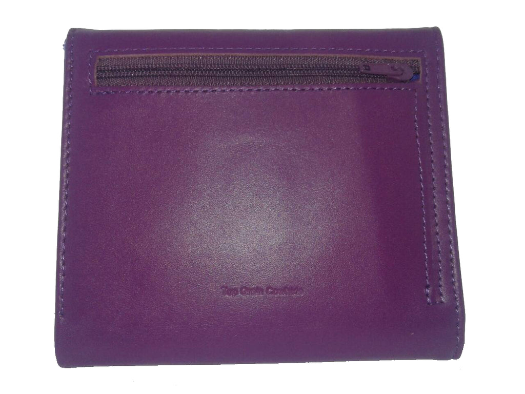 Leather Trixie Purple