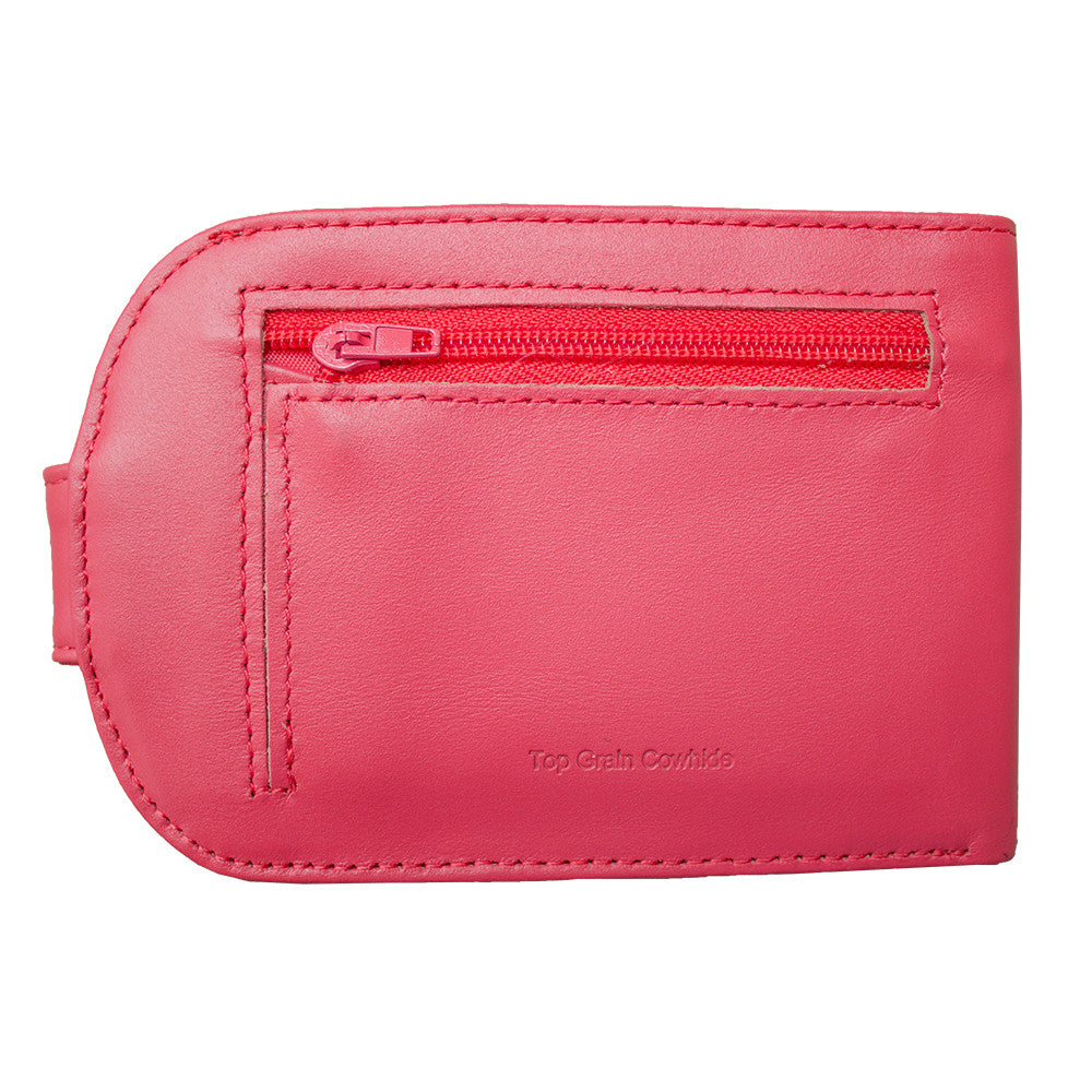 Leather Taxicat Coral Pink