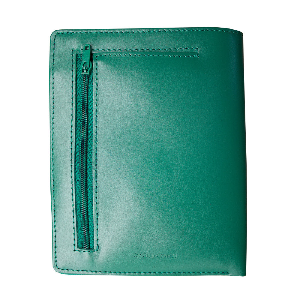 Leather Traveler Wallet (Green)