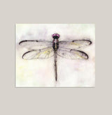 """Paper Wings"" Dragonfly Art Print"