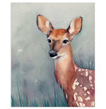 """Through the Thicket"" Woodland Deer Art Print"
