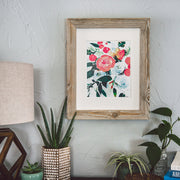 """Summer Blooms"" Floral Art Print"