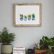 """Potted Pals"" Moroccan Plants Art Print"