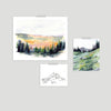 Mountain Air Gallery Wall Set of Three
