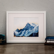 """Majestic Elevation"" Mountain Landscape Art Print"