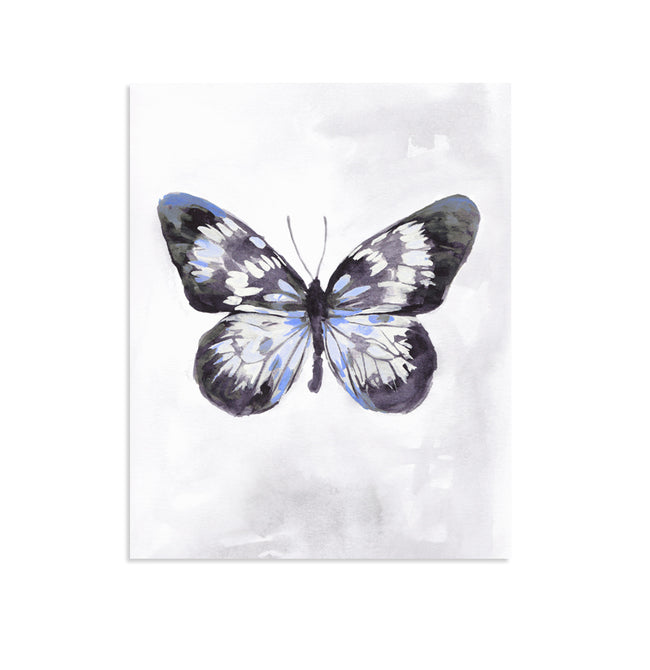 """Wings"" Gallery Wall Set of Four Butterfly Prints"