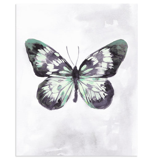 """Mint Wings"" Butterfly Art Print"